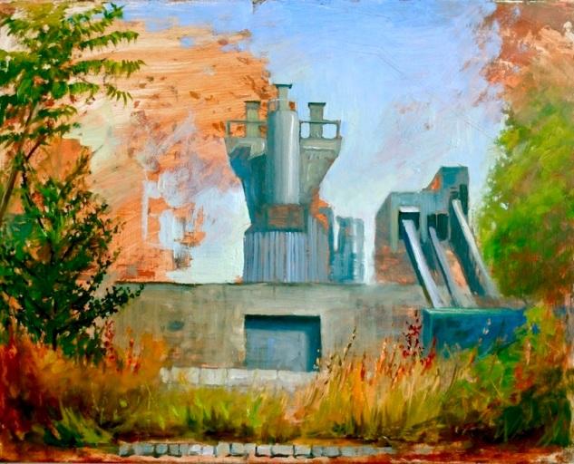 Cement Factory & Burme Garden