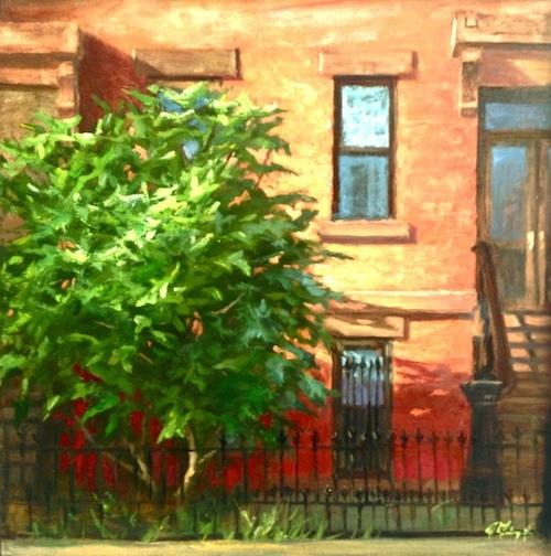 Brooklyn Fig, 20 x 20, oil on canvas *