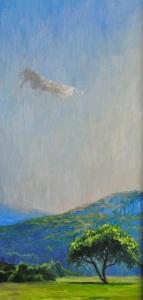 Blue & Green Landscape VI