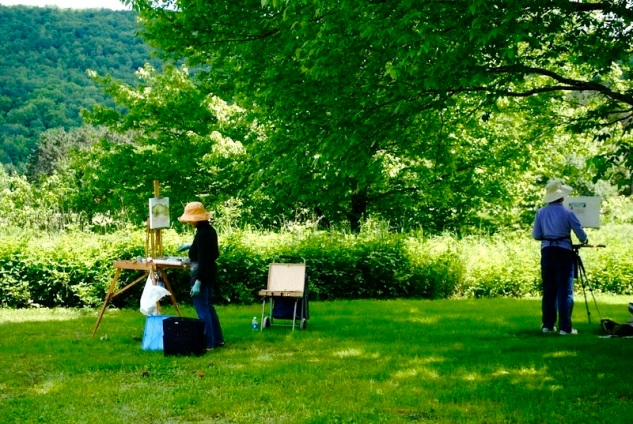 Painting Retreat Barbara & Annette