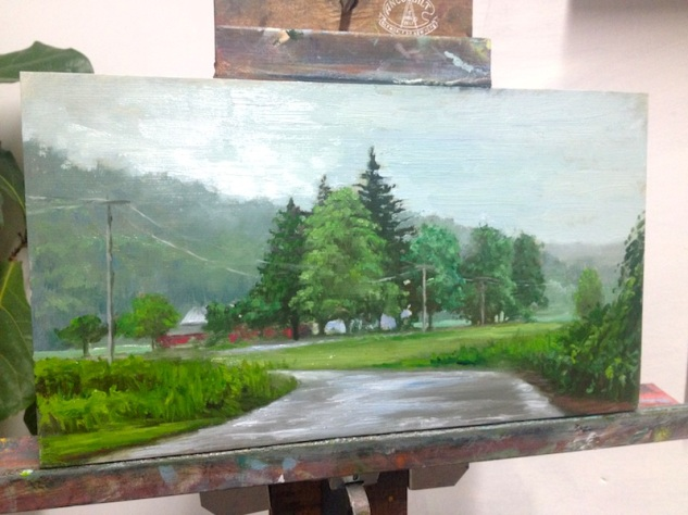 Last Painting of 2013